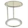 Office Star Yield Glass Circle Table