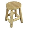 Rustic Cedar STOOL, BAR 18""