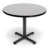 36 Round Multi-Purpose Table, Gray Nebula