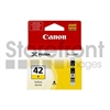 CANON PIXMA PRO100 1-CLI42 SD YELLOW INK