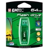 EMTEC C600 CANDY (GREEN) 64GB USB 2.0 FLASH DRIVE