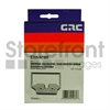 GRC UNIVERSAL E205-NTBR 1-BLACK/RED NYLON RIBBON