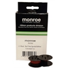 MONROE P65M 8130 BLACK/RED SPOOL RIBBON