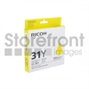 RICOH AFICIO GXE3300N GC31Y SD YELLOW INK