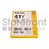 RICOH AFICIO SG3110DN GC41Y SD YELLOW INK