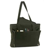 Black Ladies Business Tote with Removable Laptop Sleeve