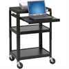 Balt ADJ LAPTOP CART (Black)