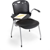 Balt Circulation Stacking Chair - Black - Set of 2