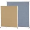 "Markerboard and Fabric Double sided 72""H x 36""W"