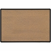 Best-Rite Mfg. BLACK SPLASH CORK / BLACK PRESIDENTIAL TRIM 4X8
