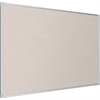 PEBBLES VINYL TACKBOARD/ULTRA TRIM -SILVER/4X8