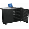 Odyssey Laptop Charging Cart (24 compartment) w/ electric