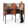 Balt Adjustable Height Carrel Adder