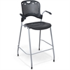 Circulation Stacking Stool - Black
