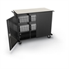 Balt Odyssey High Capacity Charging Cart (holds 48 tablets) w/ electric -  Assembled