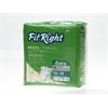 FitRight Extra Briefs,X-Large, 80/CS