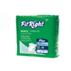 FitRight Plus Briefs,Large, 80/CS