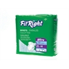 FitRight Ultra Briefs,Large, 80/CS