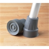 "7/8"" Guardian Crutch Tip,Gray, 8/CS"