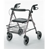 "Guardian Deluxe Rollators with 8"" Wheels,Blue, 1/CS"