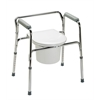 3-In-1 Steel Commode, 4/CS