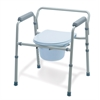 Folding 3-In-1 Commode, 1/CS