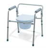 Folding 3-In-1 Commode, 4/CS