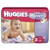 Huggies Little Movers Diapers by Kimberly-Clark Corporation, 126/CS