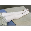 EMS Thigh Length Anti-Embolism Stockings,White,Large, 6/BX