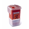 Phlebotomy Sharps Containers,Red,5.000, 1/EA