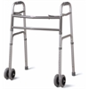 "Bariatric Folding Walker with 5"" Wheels, 1/CS"