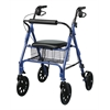 "Rollators with 8"" Wheels,Blue, 1/CS"