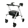 Luxe Rollator,White