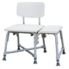 Non-Padded Bariatric Transfer Bench, 1/CS