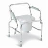 Steel Drop-Arm Commode, 1/EA