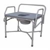 Bariatric Drop-Arm Commode, 1/CS