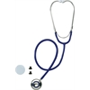 Dual-Head Stethoscopes,Blue, 1/EA