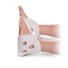 Ventilated Heel Protectors,White,Unisize, 1/EA