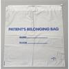Drawstring Patient Belonging Bags,White, 250/CS