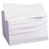 Deluxe Dry Disposbale Washcloths,White, 500/CS