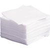 Deluxe Dry Disposbale Washcloths,White, 1080/CS