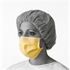 Isolation Face Masks with Earloops,Yellow, 50/BX