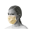 Isolation Face Masks with Earloops,Yellow, 300/CS