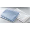 Disposable Tissue/Poly Flat Bed Sheets,Blue, 50/CS