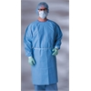 AAMI Level 3 Isolation Gowns,Blue,Regular/Large, 50/CS