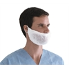 Beard Covers,White,One Size Fits Most, 1000/CS