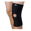 Knee Supports with Round Buttress,Black,X-Large, 1/EA