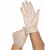 Powder Free Clear Vinyl Exam Gloves,Clear,Large, 1500/CS