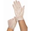 Powder Free Clear Vinyl Exam Gloves,Clear,Large, 1500/CS