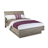 Tvilum Naia Queen Bed with Slats, Truffle